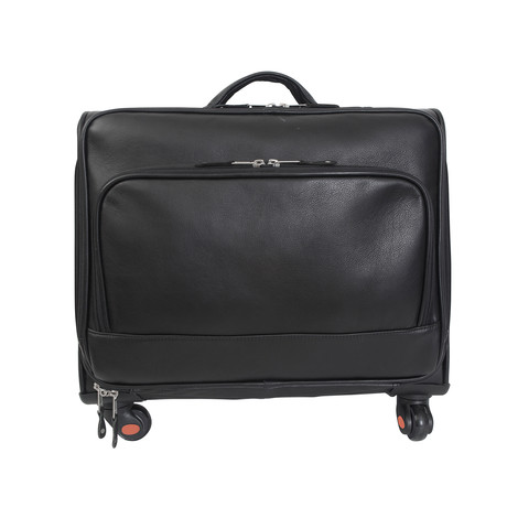 Carlin Canyon Wheeled Briefcase + Overnight Bag W/ ID Holder