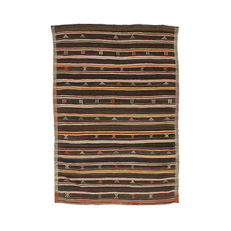 Handwoven Vintage Kilim Rug // 202