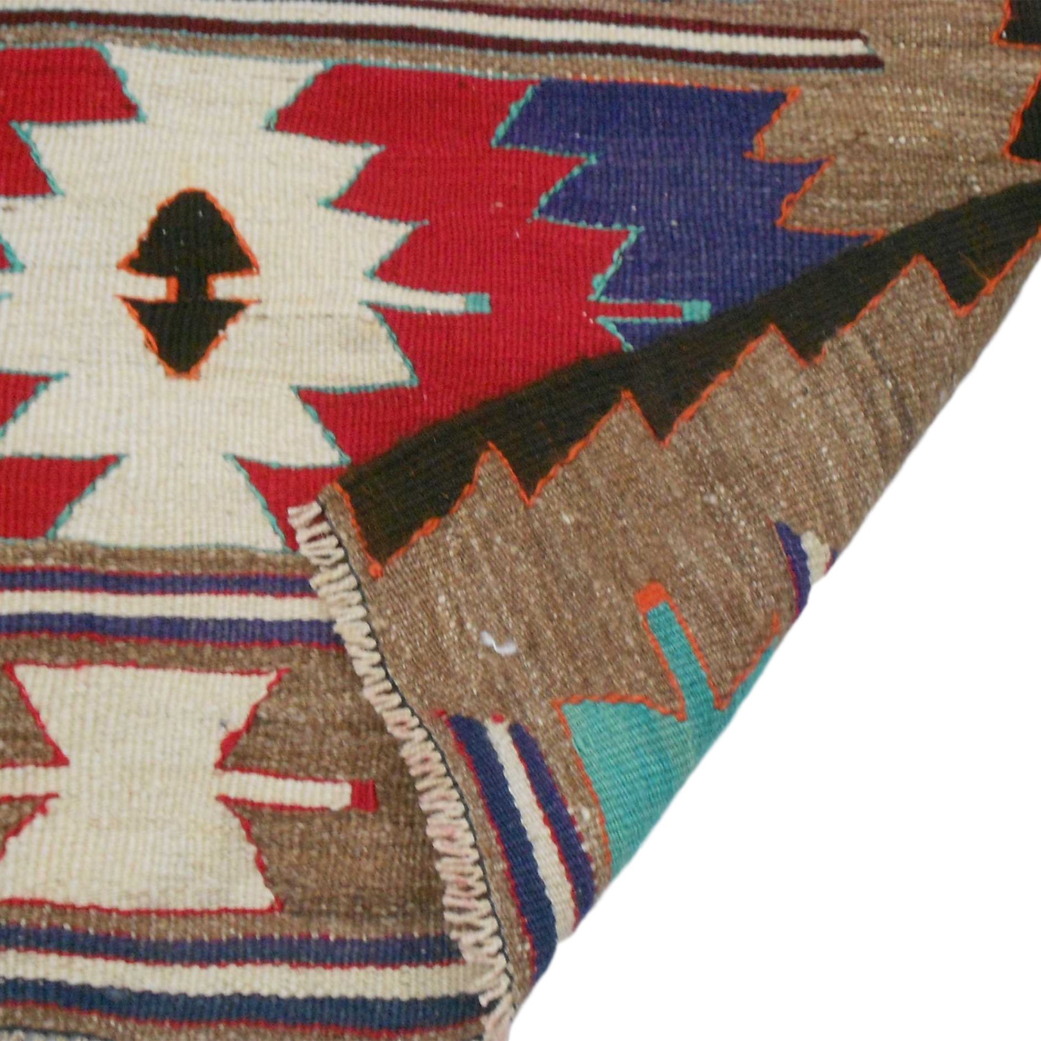 Handwoven Vintage Kilim Rug 208 Amara Rugs Touch Of