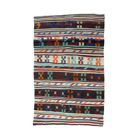Handwoven Vintage Kilim Rug // 203