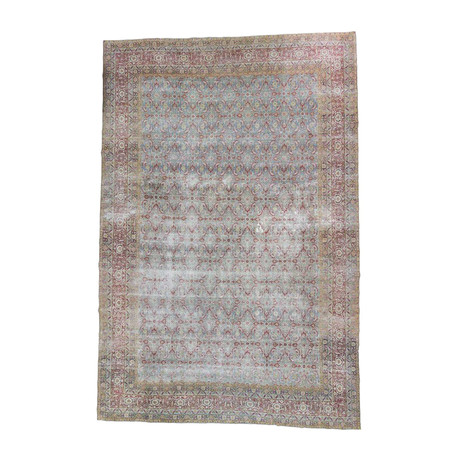 Hand Knotted Antique Oversized Persian rug