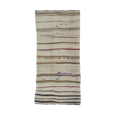 Handwoven Vintage Kilim Rug // 217