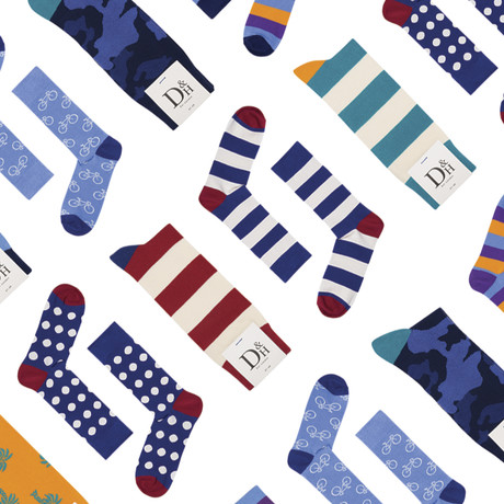 Mystery Socks // Pack of 6 (Size 36-40)