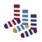 Stripes Socks // Pack of 3 (Size 36-40)
