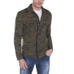 Spring Coat // Khaki Camouflage (XS)