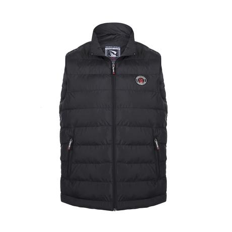 Down Vest // Black (XS)