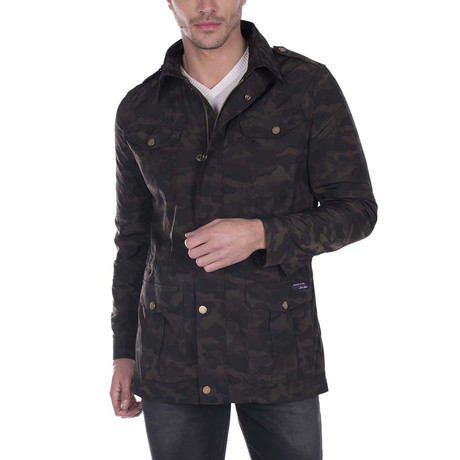 Classic Spring Jacket // Dark Camouflage (XS)