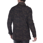 Classic Spring Jacket // Dark Camouflage (XS)