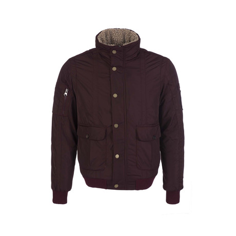 Airborne Winter Coat // Bordeaux (XS)