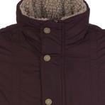Airborne Winter Coat // Bordeaux (XS)