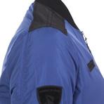 Airborne Bomber Coat // Blue (XS)