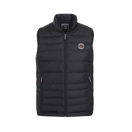 Puffer Vest // Black (XS)
