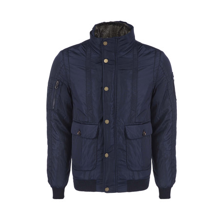 Airborne Winter Coat // Navy (XS)