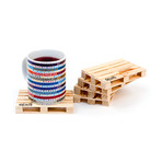 Pallet-It Coasters // Set of 5 (Set of 5)