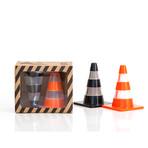 Salt + Pepper Traffic Cones // Set of 2