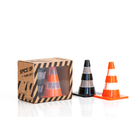 Salt + Pepper Traffic Cones // Set of 2