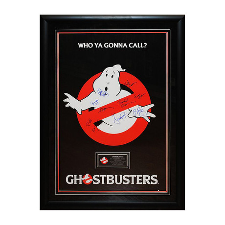 Signed Movie Poster // Ghostbusters II