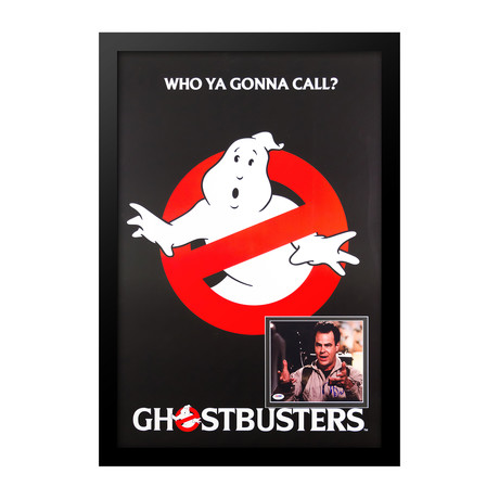 Signed Movie Poster // Ghostbusters I