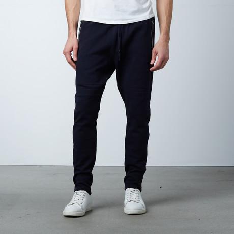 Reneau Fleece Pant // Loud Blue (XS)