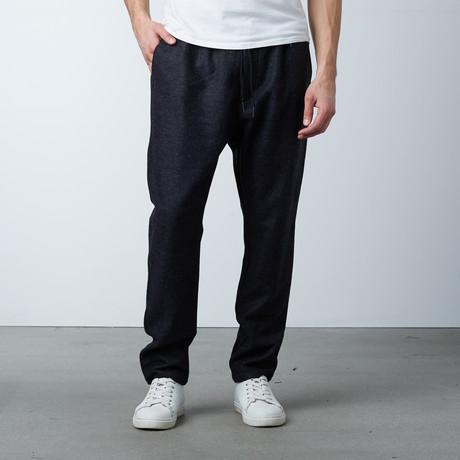 Grecco Long Wool Pant // Dark Melange (XS)