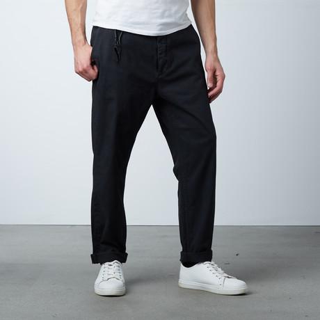 Corinthian Loose Waist Pant // Black (XS)