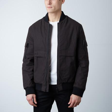 Emeri Bomber Jacket // Brown (XS)