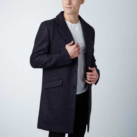 Gaspard Long Coat // Loud Blue (XS)