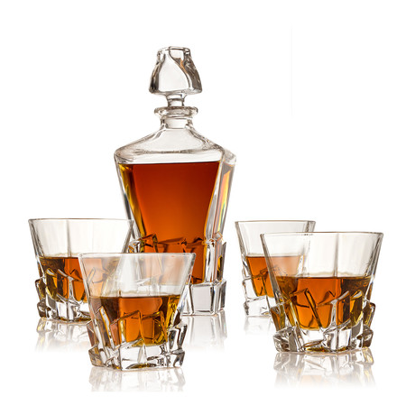 Ice Box Decanter Set