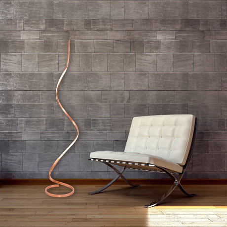 Capri Color Temperature Floor Lamp // 63""