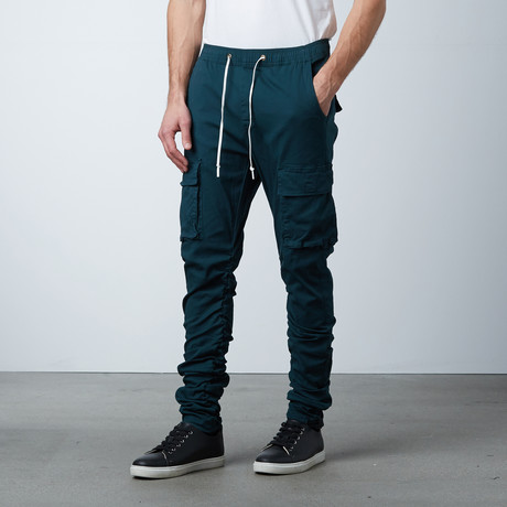 Hybrid Cargo Chino // Teal (S)