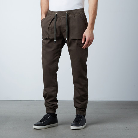 Cargo Jogger // Olive (S)