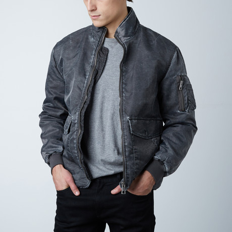 Mineral Bomber // Charcoal (S)