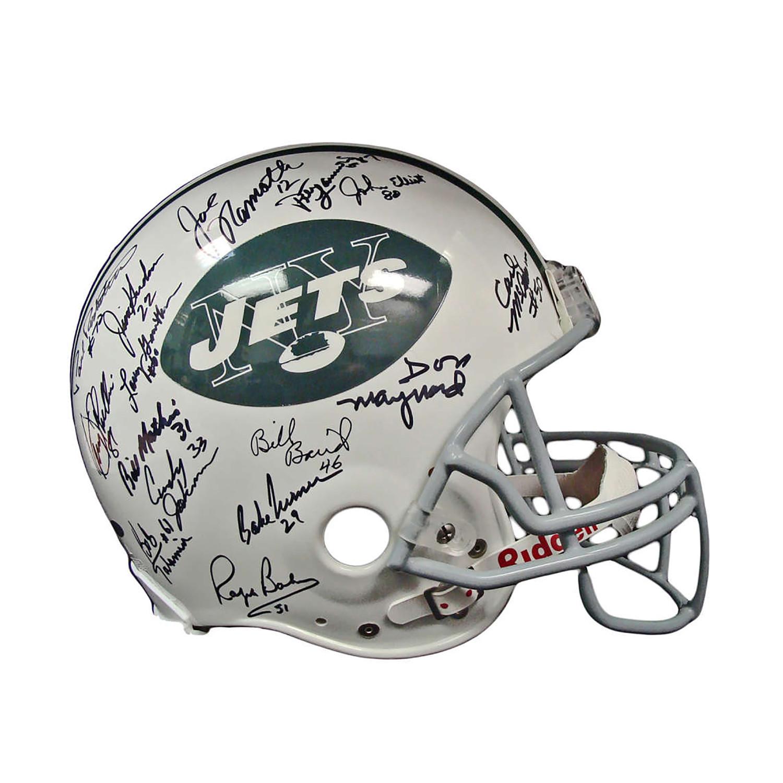 1969 Super Bowl Champion New York Jets Helmet Brigandi