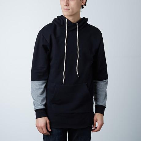 Modern Hoodie // Black + Gray (XS)