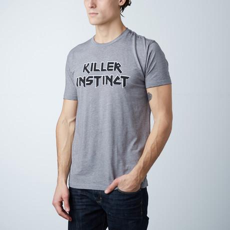 Killer Instinct // Heather Gray Burnout (XS)