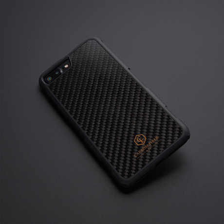 Carbon Fiber iPhone Case // Impact Protection (iPhone 7/8)