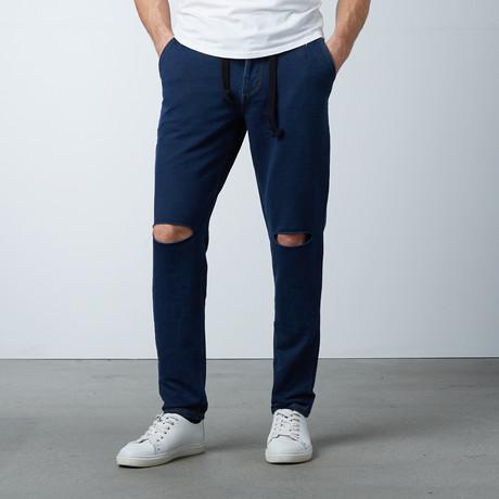 Travel Pants // Knee Cut Denim (XS)