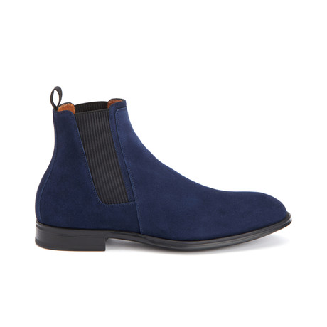 Damon Dress Suede Shoes // Navy (US: 11)