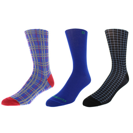 Philadelphia Dress Socks // Pack of 3