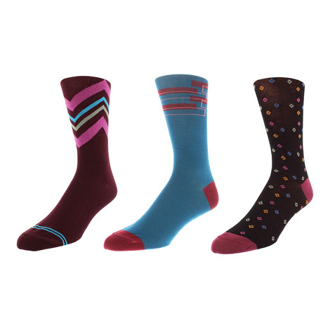 Portland Dress Socks // Pack of 3