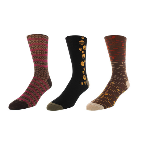 Atlanta Dress Socks // Pack of 3