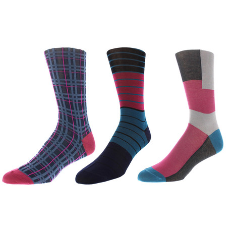 Denver Dress Socks // Pack of 3