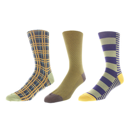 Kansas City Dress Socks // Pack of 3