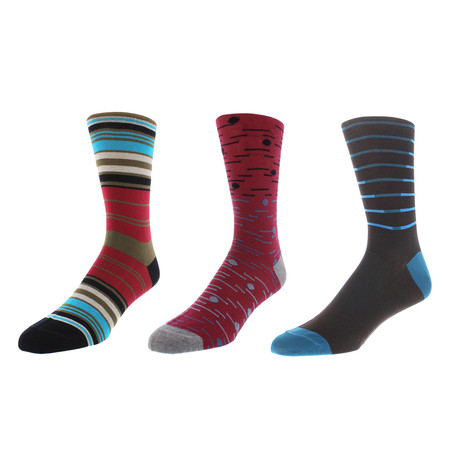 Oakland Dress Socks // Pack of 3