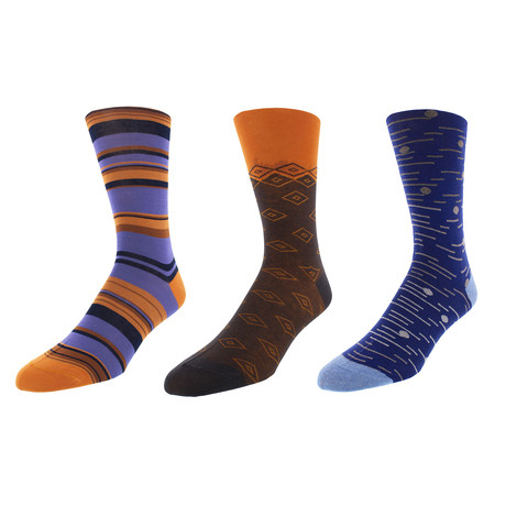 Ann Arbor Dress Socks // Pack of 3