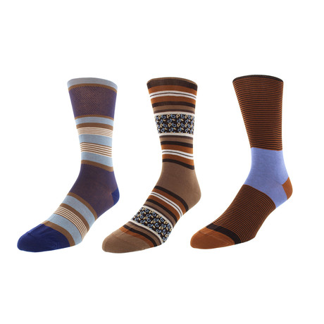 Delaware Dress Socks // Pack of 3