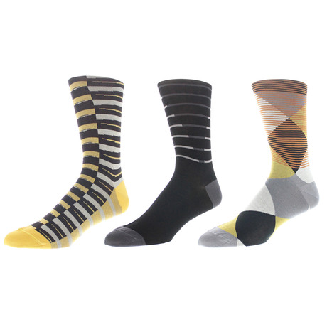 Connecticut Dress Socks // Pack of 3
