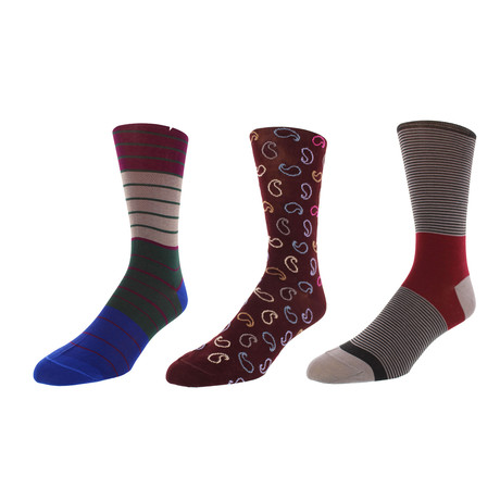 Maryland Dress Socks // Pack of 3