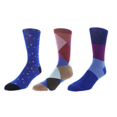 Madison Dress Socks // Pack of 3