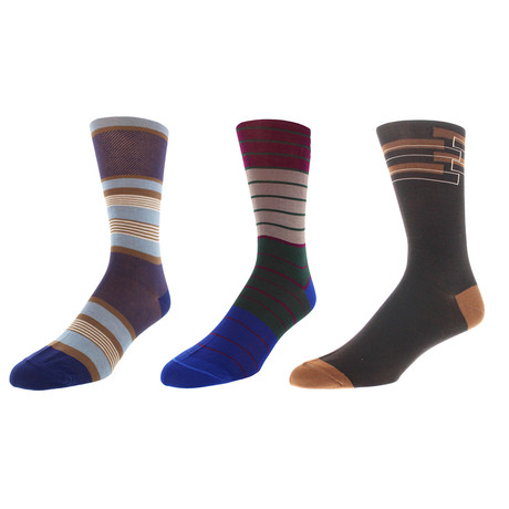 Santa Fe Dress Socks // Pack of 3